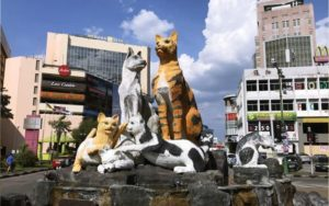 Read more about the article Visit the famous Cat Statue in Kuching, it is simply cute!