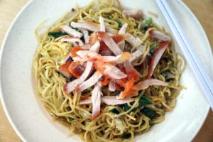 Read more about the article Egg, egg and more eggs in Tuaran Mee. Egg-licious!